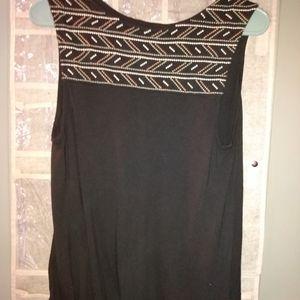Black sleeveless too